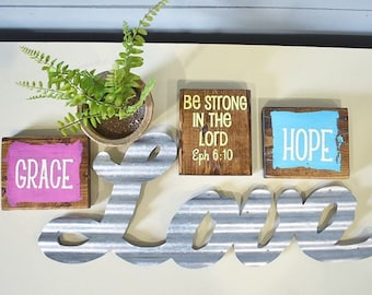 Wood Signs / Small Wood Signs / Wood Sign / Rustic Sign / Farmhouse Sign / Mini Signs