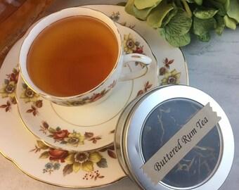 Hot Buttered Rum Black Tea Loose Leaf Black Tea 1.2 oz Pouch