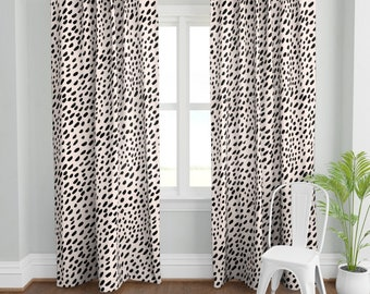 Leopard Curtains Etsy