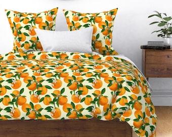 Banana watermelon Duvet Covers Reversible Bedding Sets Tropical Tutti Fruity