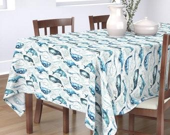 Dolphin Tablecloth Etsy