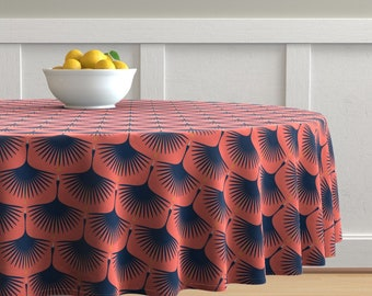 Birds /& Blooms by bohemiangypsyjane Floral Birds Nature Yellow Cotton Sateen Circle Tablecloth by Spoonflower Folk Round Tablecloth