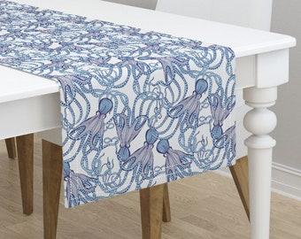 coastal tablecloth etsy