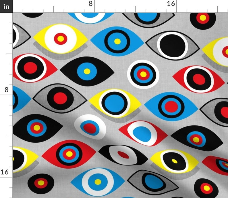 - Eye On The Target by spellstone Set of 2 Primary Colors Dinner Napkins Arrows  Eye Spellstone Sport Cloth Napkins by Spoonflower