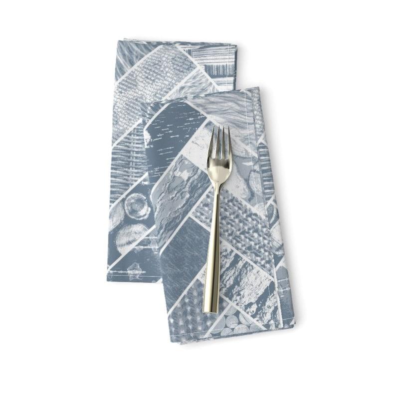- Hygge Style Grey by wickedrefined Herringbone Dinner Napkins Set of 2 Geometric  Chevron Woodgrain Tree  Cloth Napkins by Spoonflower