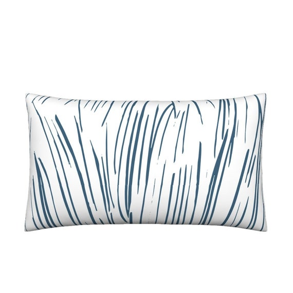 8b12888ba3b Lumbar Throw Pillow Blue Grass By Fable Design Grass