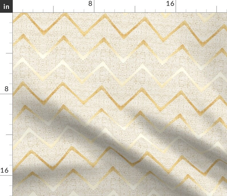 Gold Ombre  Earthen Woven Weave  Cotton Sateen Table Runner by Spoonflower Chevron Table Runner Earthen Chevron Gold by holli/_zollinger