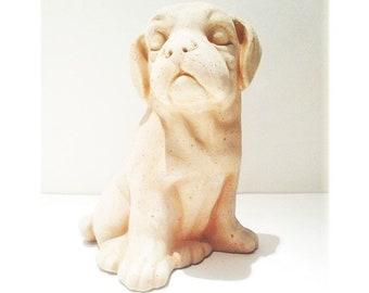 Dog Garden Statue, Outdoor Dog Statue, Boxer Dog Statue, Outdoor Fairy  Animal, Patio Decor, Garden Decor, Pottery Garden Statue, Dog Statue
