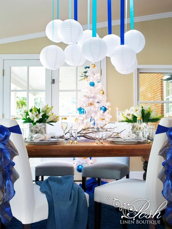 Miraculous Royal Blue Wedding Chair Sashes Wedding Chair Covers Sets Of Either 2 4 5 6 8 Or 10 Chair Sashes Includes Free Shipping Caraccident5 Cool Chair Designs And Ideas Caraccident5Info