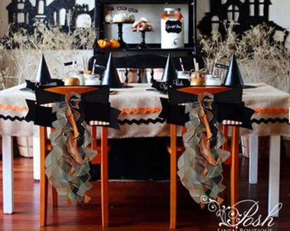 Awe Inspiring Halloween Chair Sashes Halloween Decorations Sets Of Either 2 4 5 6 8 Or 10 Chair Sashes Includes Free Shipping Caraccident5 Cool Chair Designs And Ideas Caraccident5Info