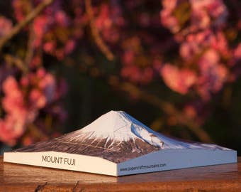 Mount Fuji Papercraft Mountain