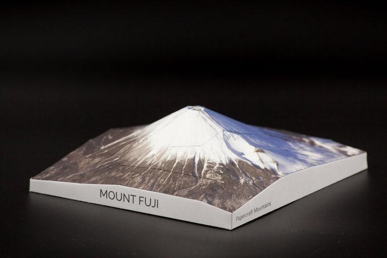 Mount Fuji Papercraft Mountain image 0