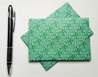 christmas letter writing set christmas stationery set holiday gift gift for her gift for mom envelope holiday thank you notes santa