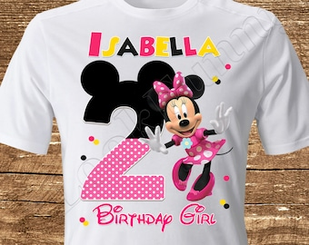 04a66b071 Minnie Mouse Iron On Transfer Minnie Mouse Birthday Girl Iron On Transfer Minnie  Mouse Birthday Shirt Iron On Transfer Minnie Mouse Shirt