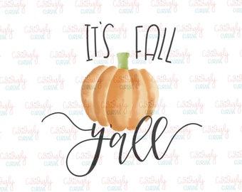 It's Fall Y'all Print