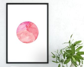 Moon Print, Moon Printable, Moon Poster, Moon Photo Print, Moon Art Print, Full Moon Wall Art, Full Moon, Moon Wall Art, Digital Moon Poster