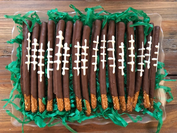 Soccer Ball Chocolate Pretzels