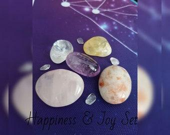 Happiness & Joy Crystal Set