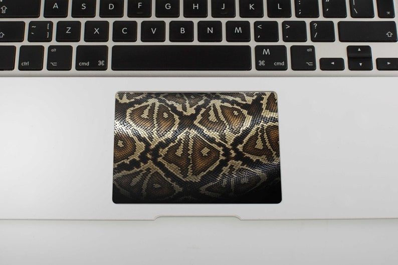 Snake Skin Trackpad Decal Touchpad Sticker Macbook Pro Skin Macbook Air  Skin Macbook Pro Sticker Macbook Air 13 Case Macbook Pro 15 RS3242