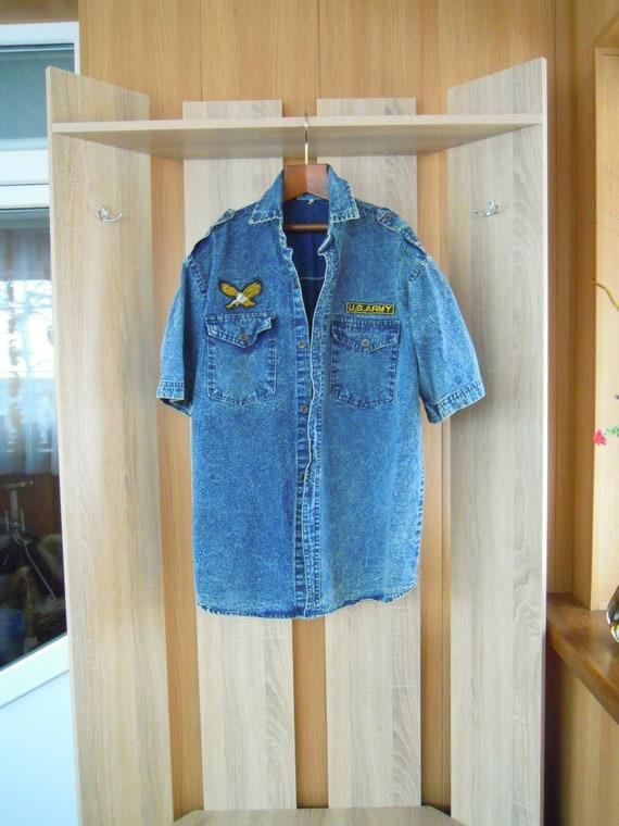 Original jeans shirt, Jeans shirt, Original shirt