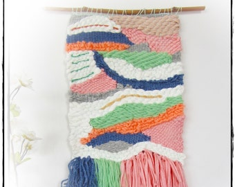 Tapestry wall Decorativo/Hecho hand/color cake
