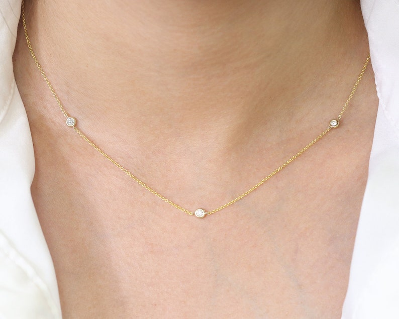 High Quality Diamond Necklace/Diamond Necklace for Women/3 image 0