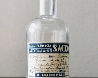 Vintage pharmacy bottle