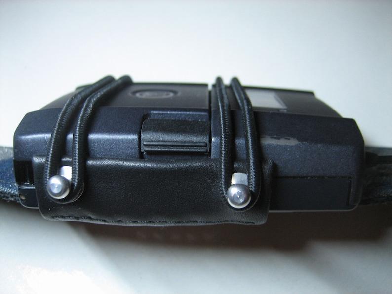 Strap-Fold / wireless guitar transmitter holder / zenderhouder image 0
