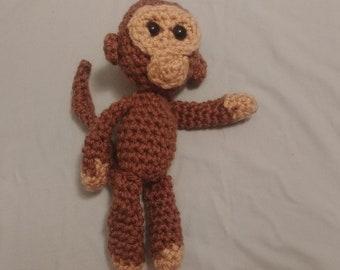Crochet Baby Monkey