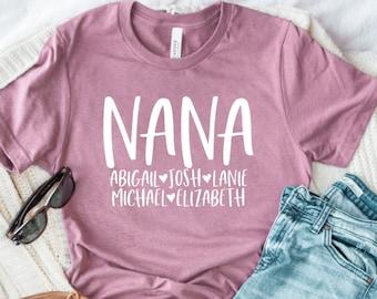 Nana Shark Doo Doo Doo Shirt Nana Gift Funny Shirt Shark Family Shirt for Nana Gift for Mothers Day