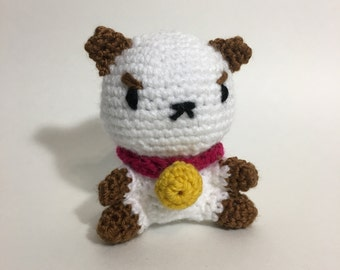 Puppycat Crochet Amigurumi Plushie