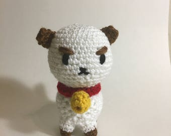Puppycat Crochet Amigurumi Plushie - Style 2