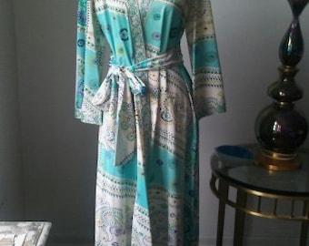 70's Maxi Robe/Dress/Duster!!!