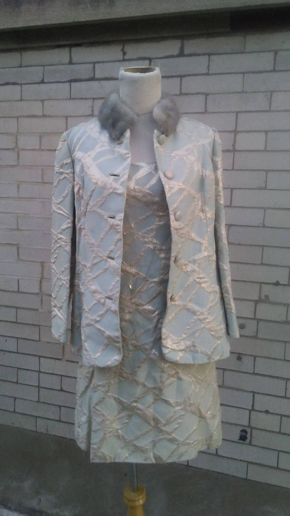 60's Dress With Jacket - image 1