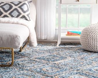 Kilim rug Area rug Woven rug Bohemian rug Rug for living room Oushak rug Vintage rug RK 8115 Home decor 4.6 x 12 ft Bedroom rug