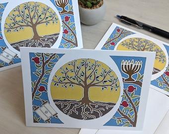 Jewish Greeting Cards - 8-Card Set