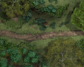1 inch grid tabletop rpg mats (available in different sizes and costs)