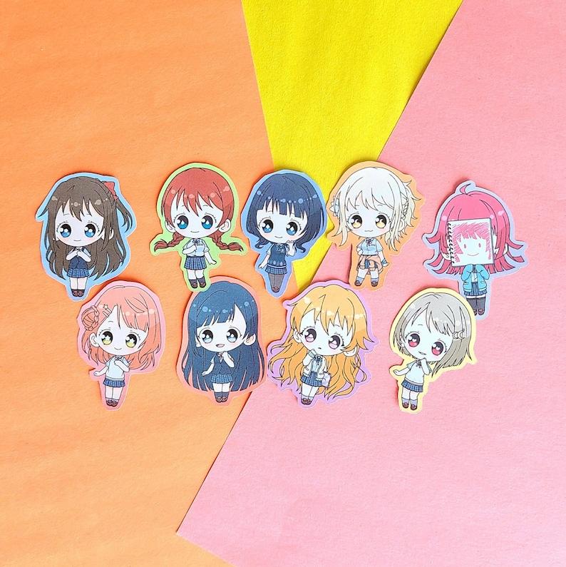 Love Live All Stars Anime Nijigasaki Stickers  Anime Planner image 0