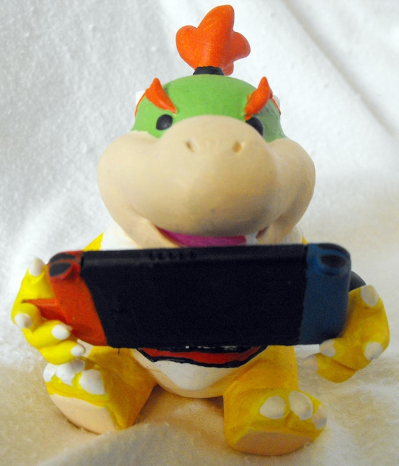 4 Inch Bowser Jr. With Removable Nintendo Switch Accessory