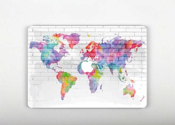 Macbook pro 15 skin world map art macbook pro keyboard gumiabroncs Gallery