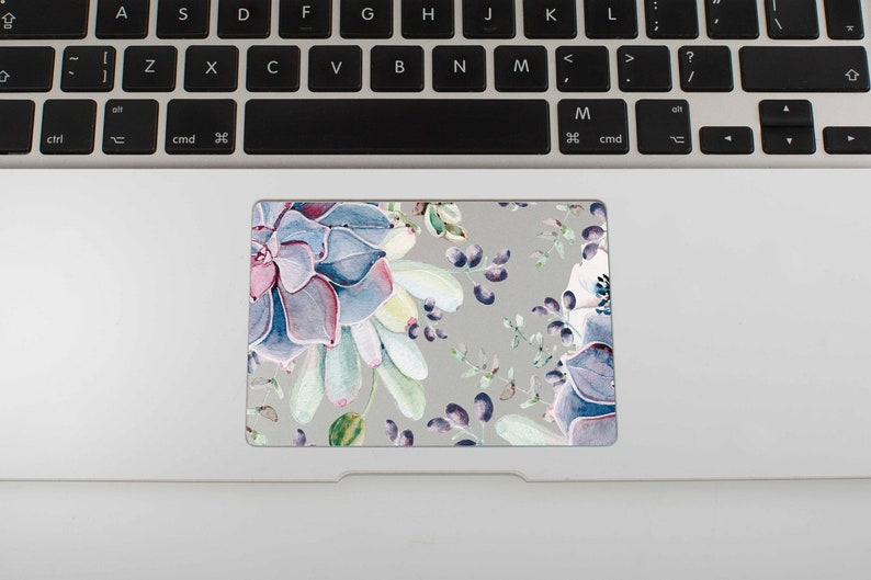 Macbook Air Trackpad Decal Art Floral Air 11 MacBook Stickers MacBook Pro  13 Sticker Floral Touchpad Stickers MacBook Pro Skin Cover SG4015