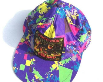 8317d258 Vintage ELLESSE COMPETITION Made By Goldwin Nylon Caps Multicolour One Size  Fit All