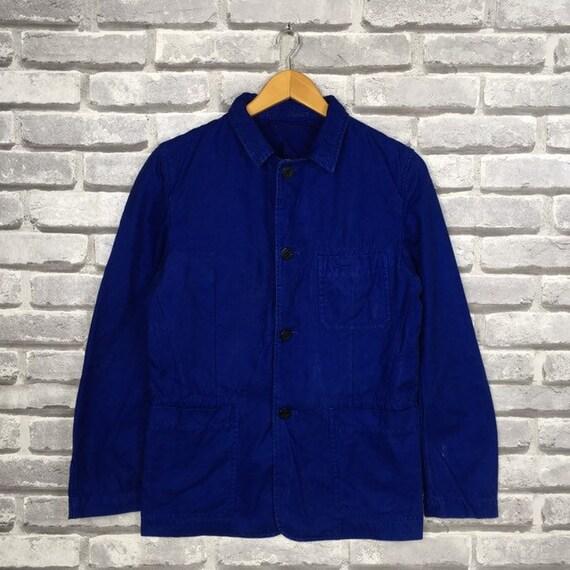 Rare BEAMS JAPAN By Japanese Brand Blue Cotton Jac