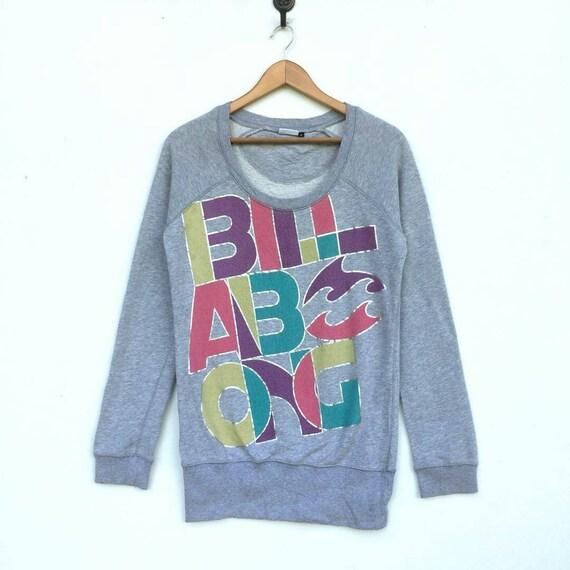Billabong Blue Beach Womens Sweatshirt