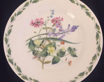 The Royal Horticultural Society Collection / The Garden by Linda Snelling produced by Queen's China / Fine Bone China Made in England /