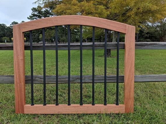 Arched Deck Gate // Patio Gate // Garden Gate // Pet Gate // | Etsy