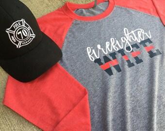 Firefighter wife shirt/ff wife/firefighter wife shirts/firefighter wife/wife/fire wife/ff wife shirt/ff/firefighter shirt/firemen/fireman