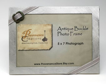 Medieval Spectacle Buckle Photo Frame