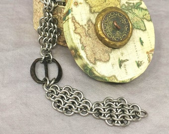 18th Century Buckle Chainmaille Bracelet