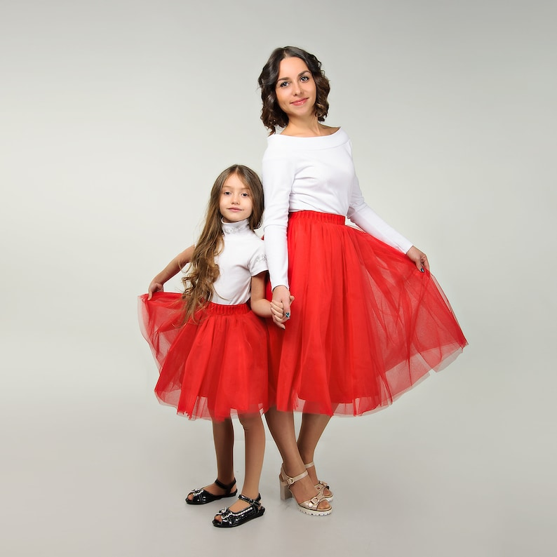 Matching family outfits tulle skirt mother and daughter mommy and me outfits matching mommy and daughter outfits